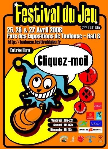 Festival jeu Toulouse