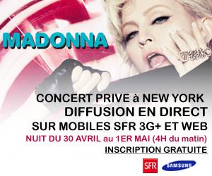 concert madonna gratuit sfr