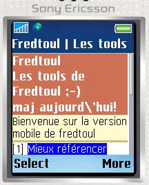 Test fredtoul mobile
