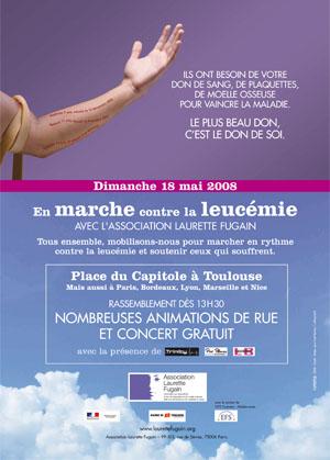 marche leucemie toulouse 2008
