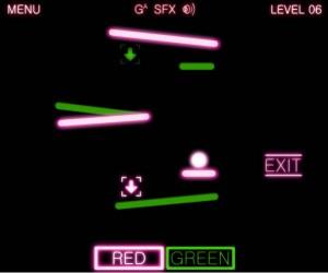 jeu flash neon layer
