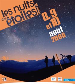 nuit etoiles 2008