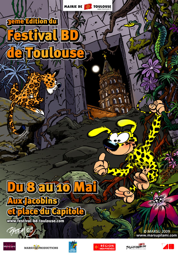 festival-bd-toulouse-capitole-2009