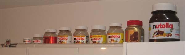 petit moyen grand pot de nutella le pot de nutella 804496