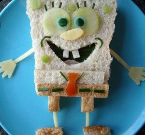 sandwich-art-spongebob